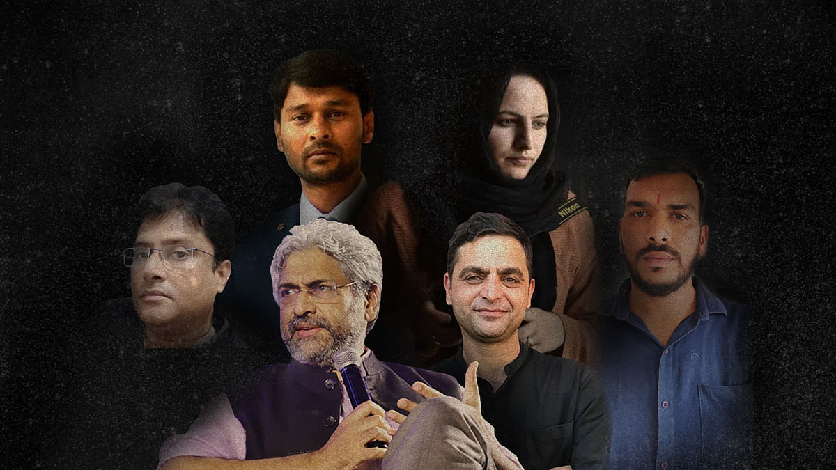 'Gagging the media': A list of Indian journalists booked, arrested, assaulted during the lockdown