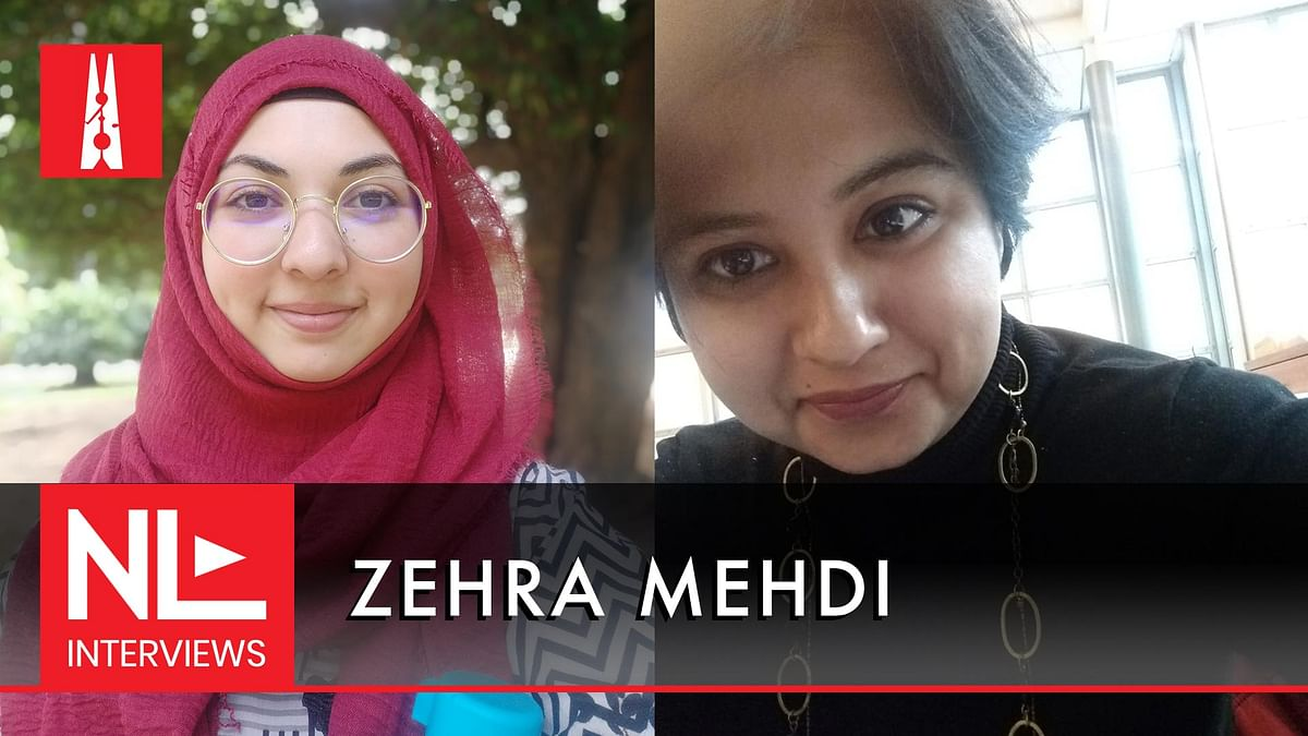 NL Interview: Zehra Mehdi on vilification of Muslims, and being a counsellor in lockdown