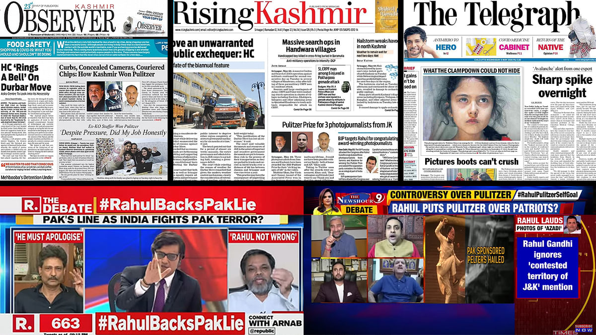 Celebration to castigation: Indian media's reaction to Pulitzer for J&K journalists had it all