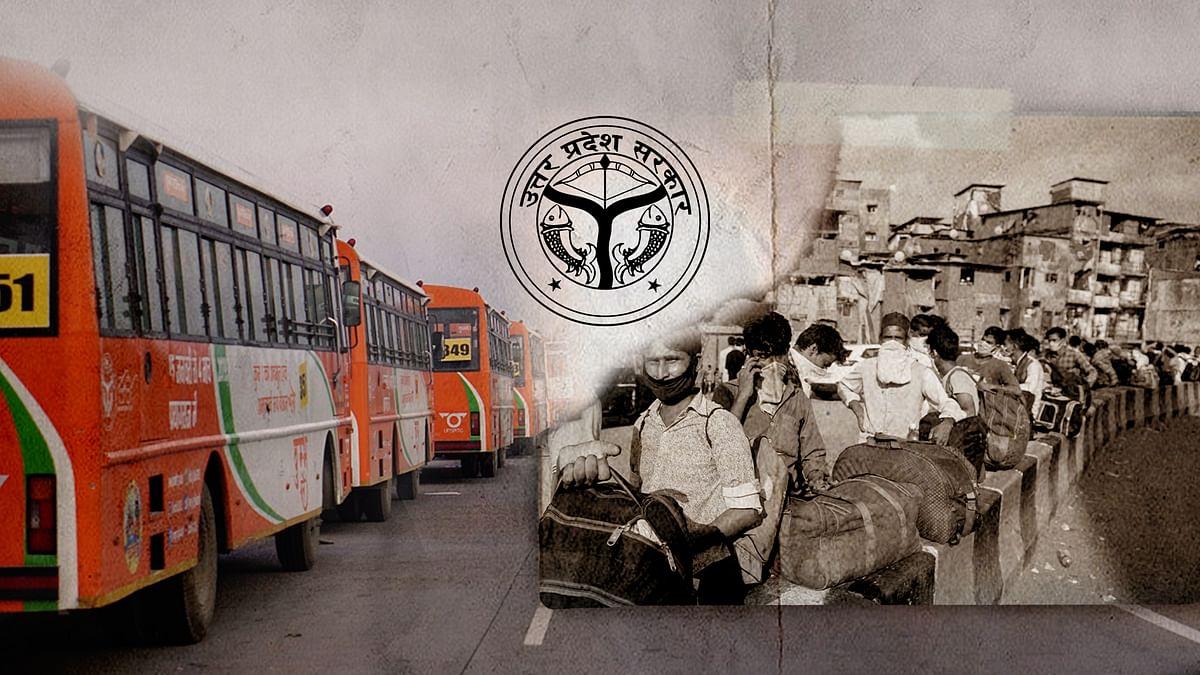 कुंभ मेले में सैंकड़ों बसों की परेड करवाने वाले योगीजी की बसें कहां चली गईं