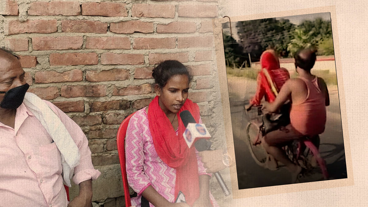 'We thought we would die': Meet the Bihar girl who cycled 1,200 km to get father home