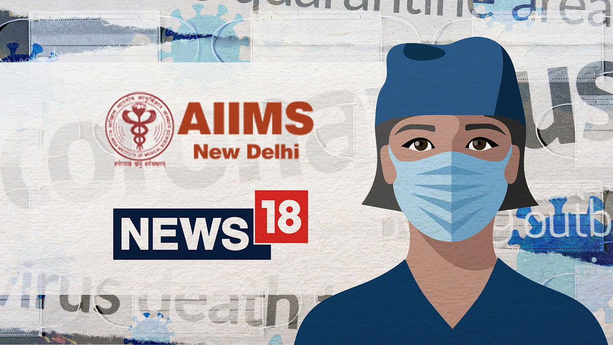 What happened to the News18 report on low-quality masks at AIIMS?