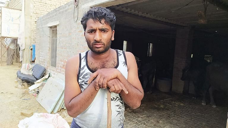 In Pipli Khera village near Murthal, dairy farmers said the lockdown has 'broken their backs'.