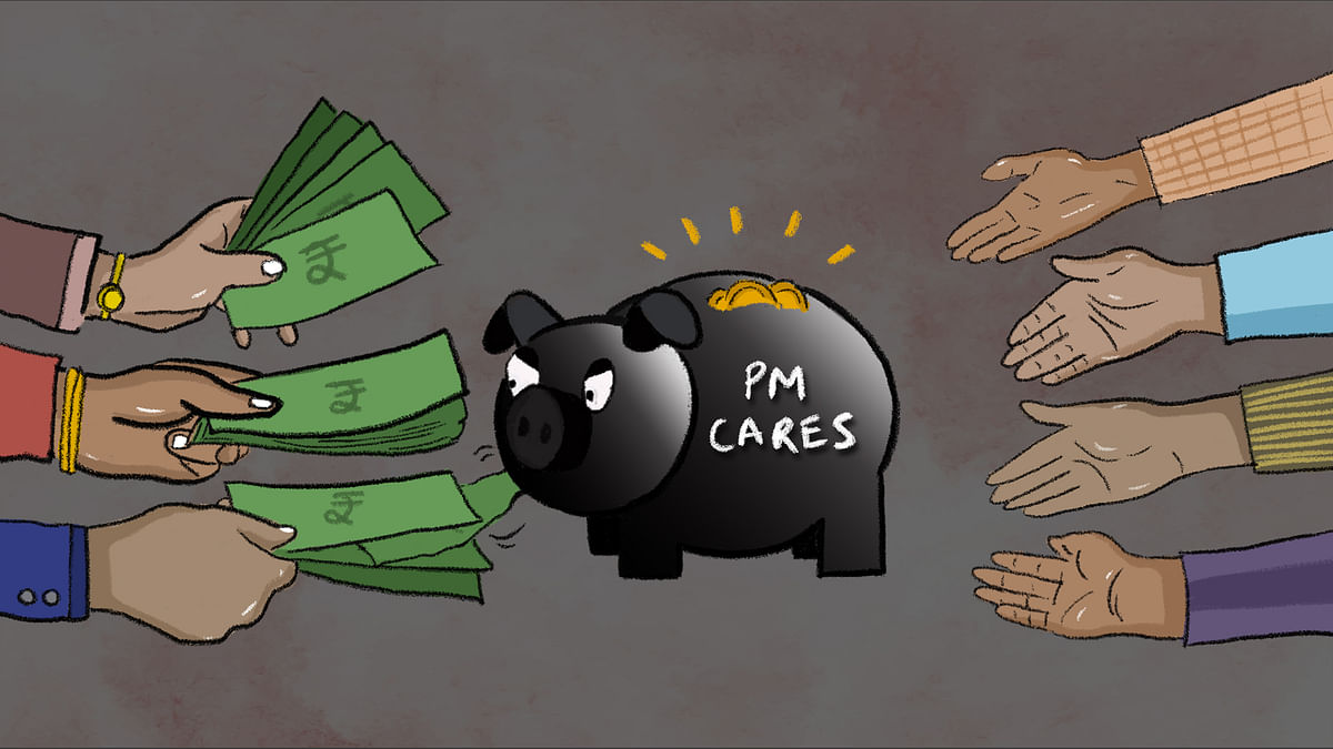 How come companies have money for PM Cares fund, but not for their staff?