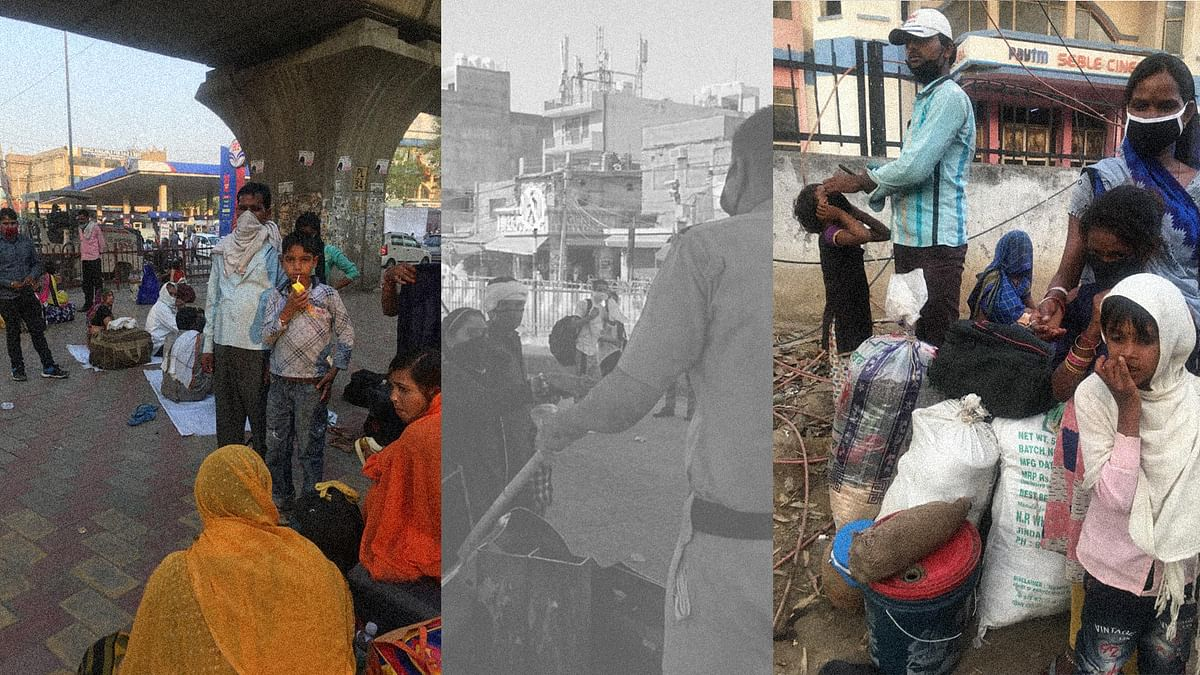 Trapped between Modi Rasoi and Kejri shelters: A reporter's diary on migrant workers in Delhi's Badarpur