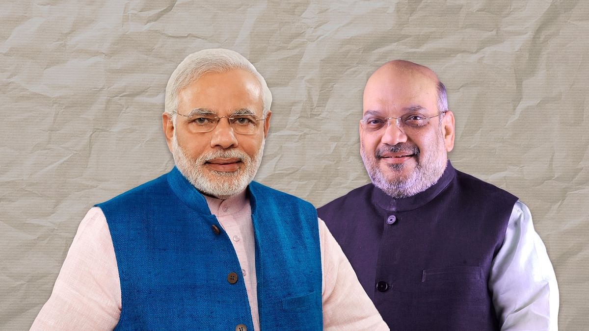 Modi and Amit Shah are still gung-ho about their projects amid coronavirus crisis