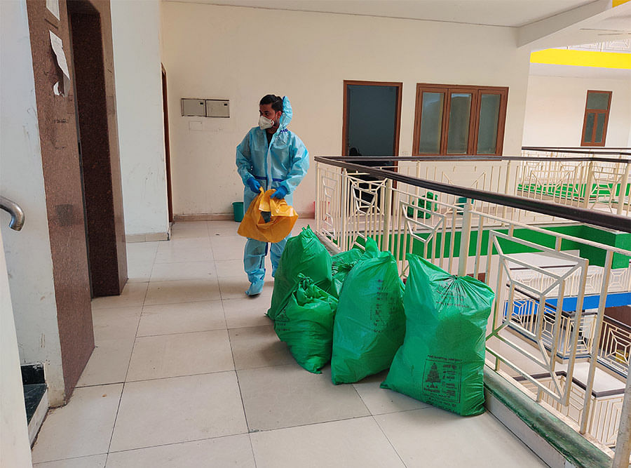 The cleaning staff at the facility.