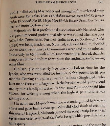From Main Shayar Toh Nahin, Harper Collins.