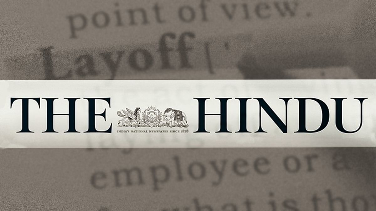 The Hindu lays off 20 employees from its Mumbai bureau