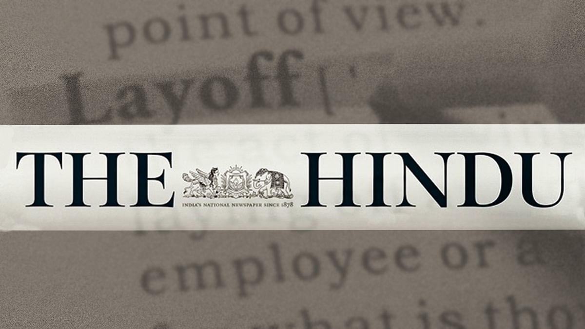 'Proper and legal dues not paid': Twenty terminated employees send legal notice to the Hindu