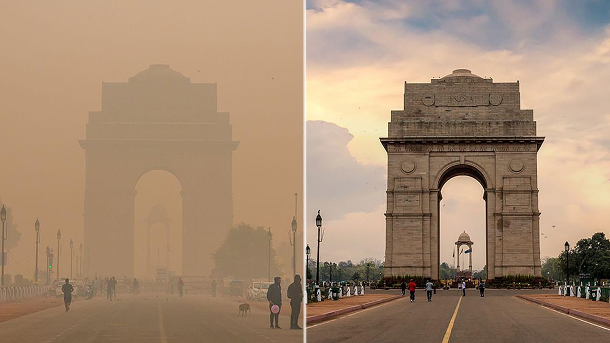 जलवायु परिवर्तन: लॉकडाउन से कार्बन फुटप्रिंट में गिरावट