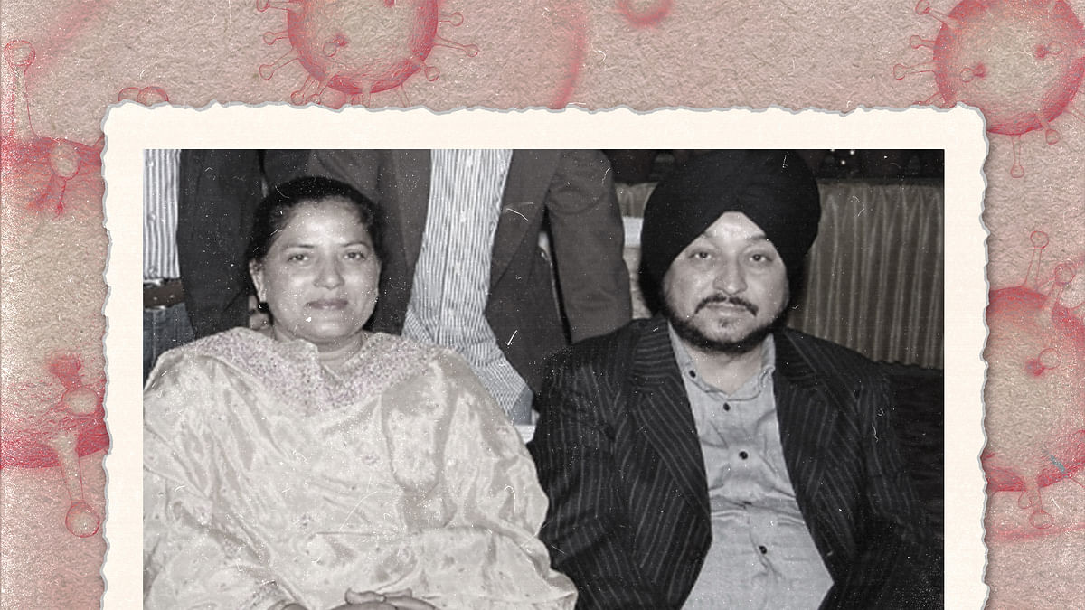 Stories, not statistics: A Delhi cop comes to grips with losing her husband to Covid