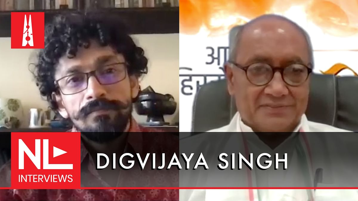 NL Interview: Digvijaya Singh on Jyotiraditya Scindia joining BJP, and toeing a 'soft Hindutva' line