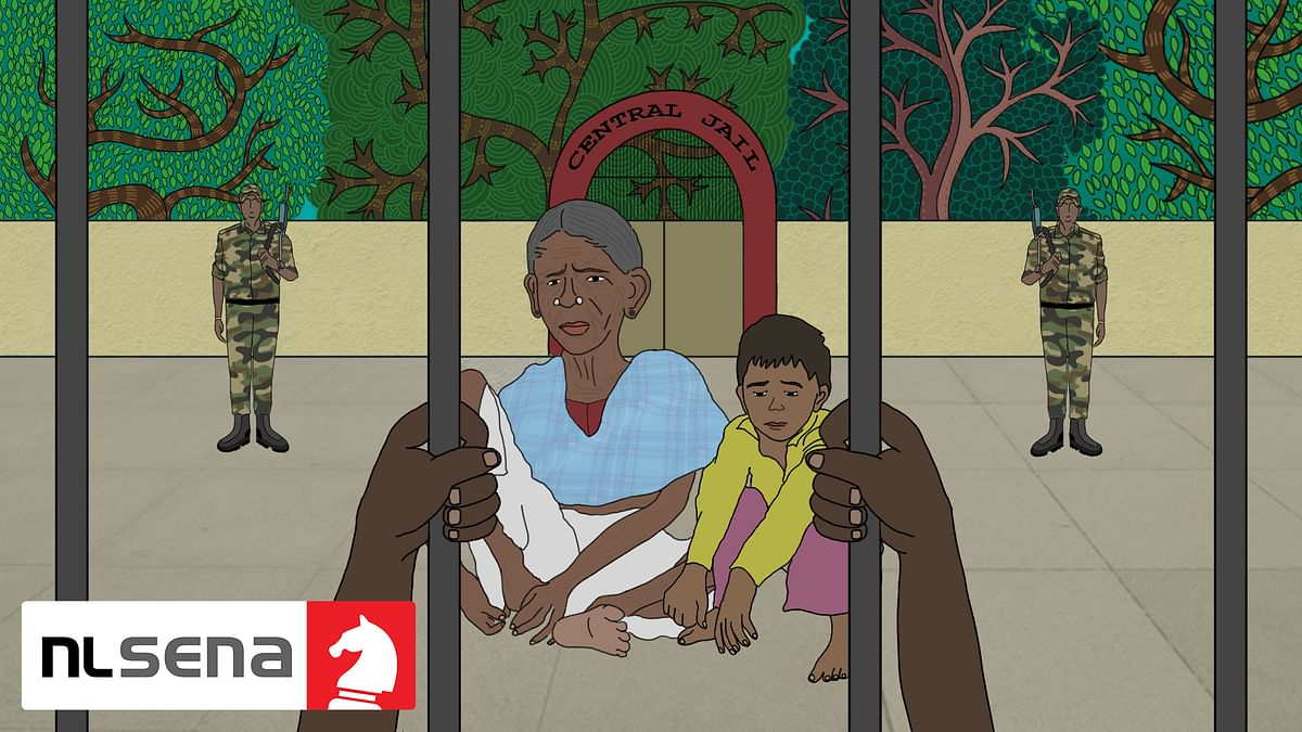 A village of women and children: How most of Burkapal's men came to be jailed without trial