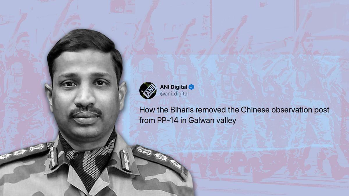 It's Bihar Regiment, not Biharis