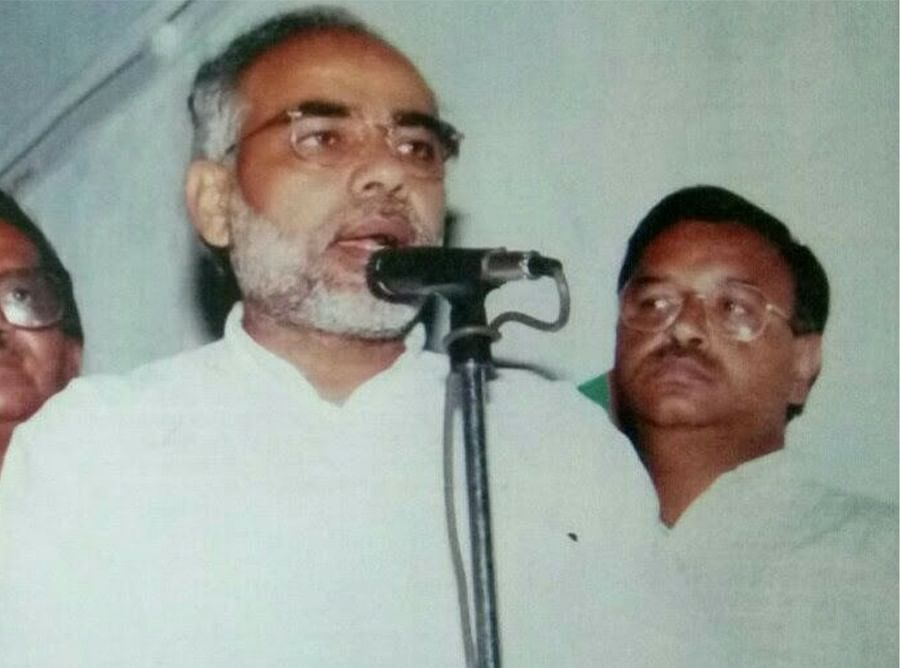 Gupta with Narendra Modi in an undated picture.