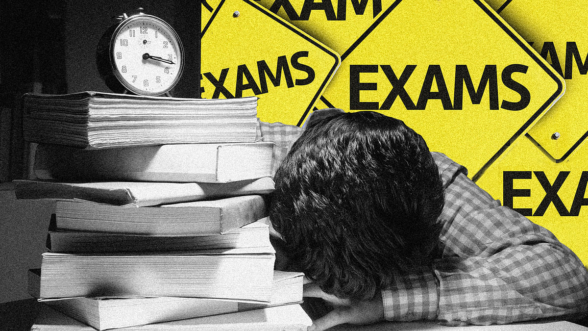 How do Class 12 students feel about the cancellation of board exams?