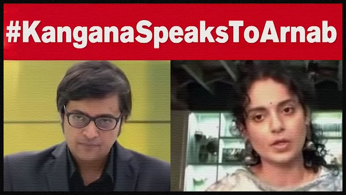 Nobody Murdered Journalism: Starring Arnab and Kangana