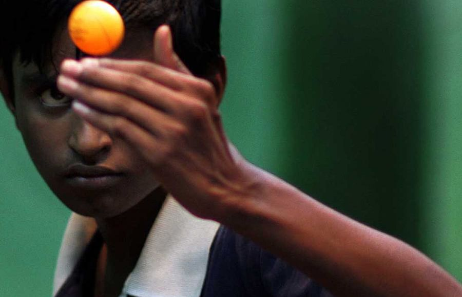 China has a monopoly over the table tennis balls in the Indian market.