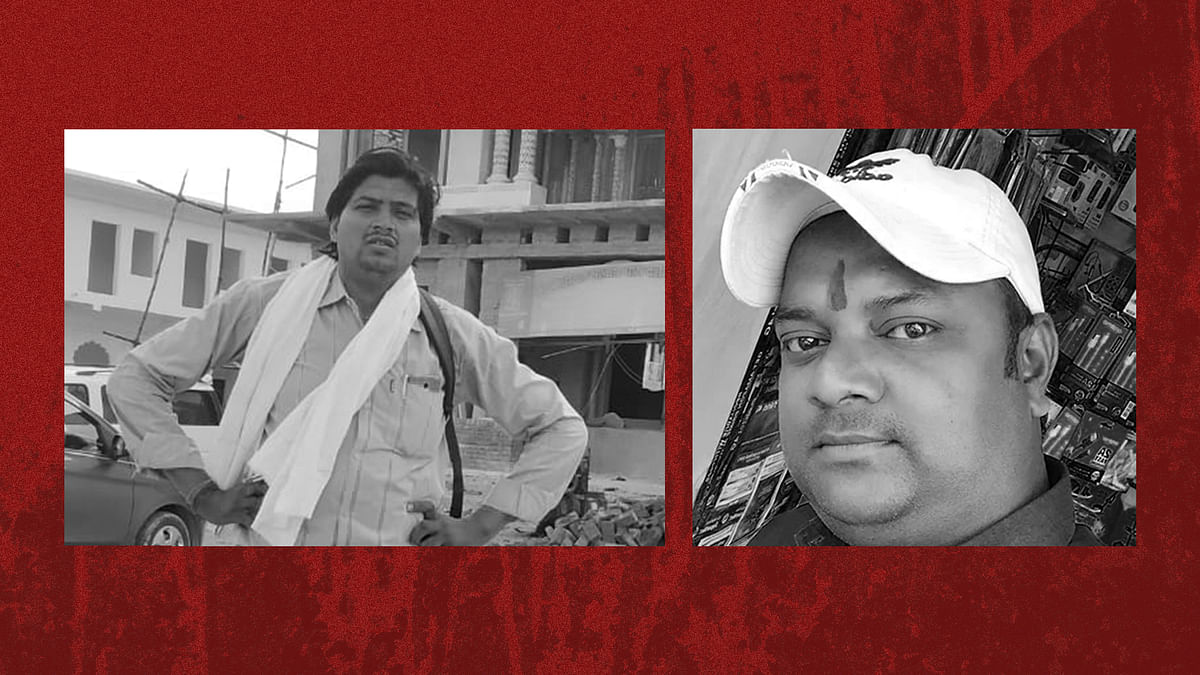Police ignored complaints of Vikram Joshi and Sunil Tiwari. And the two journalists were killed