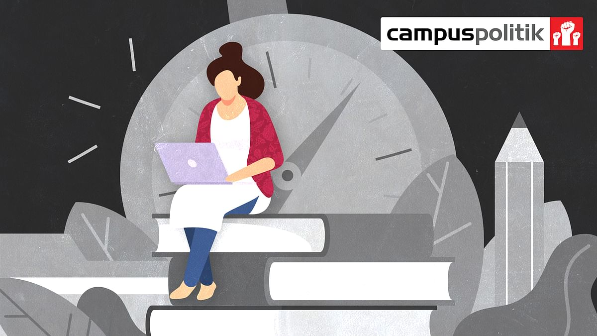 Can Indian universities ask students to take exams when they have barely taught them?