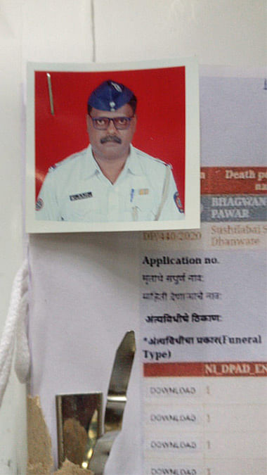 Bhagwan Pawar, an assistant sub-inspector, died on June 15.