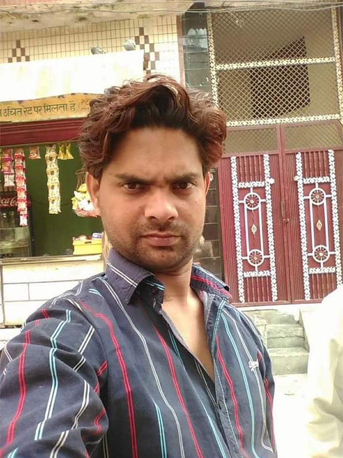 Maruf Ali, 32, was an electrician in Northeast Delhi.