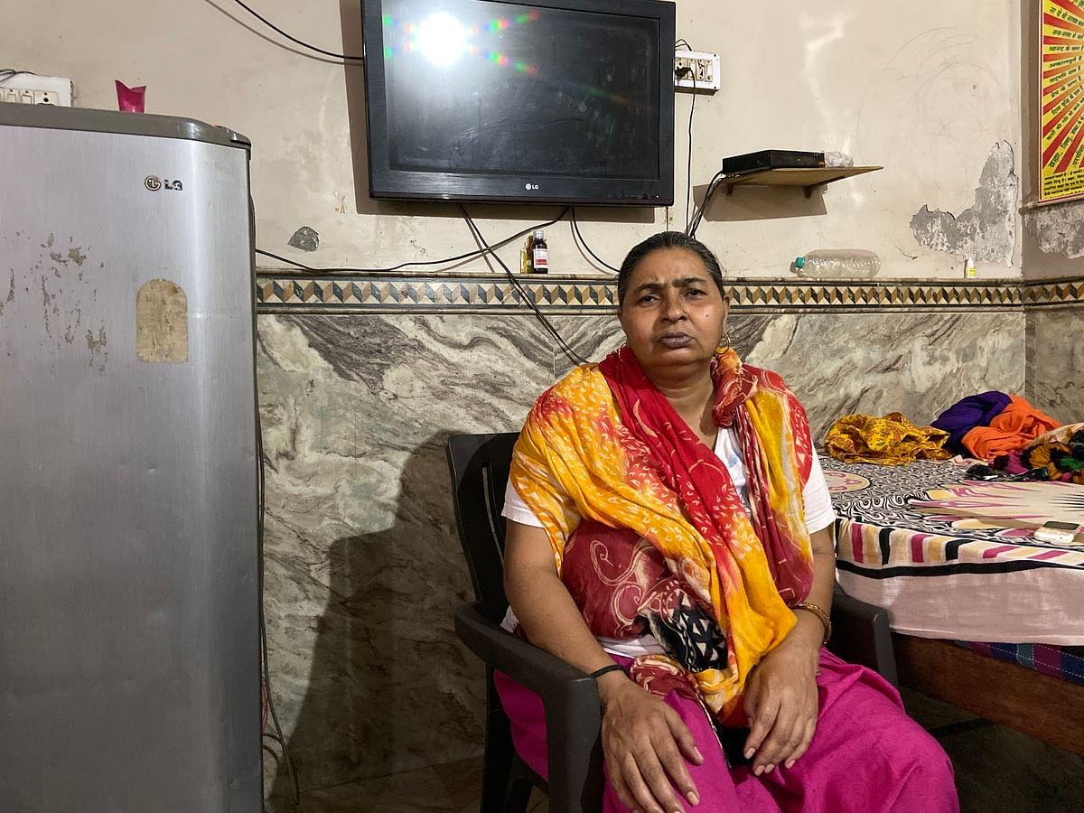 मनोज कुमार की मां राजेश देवी.