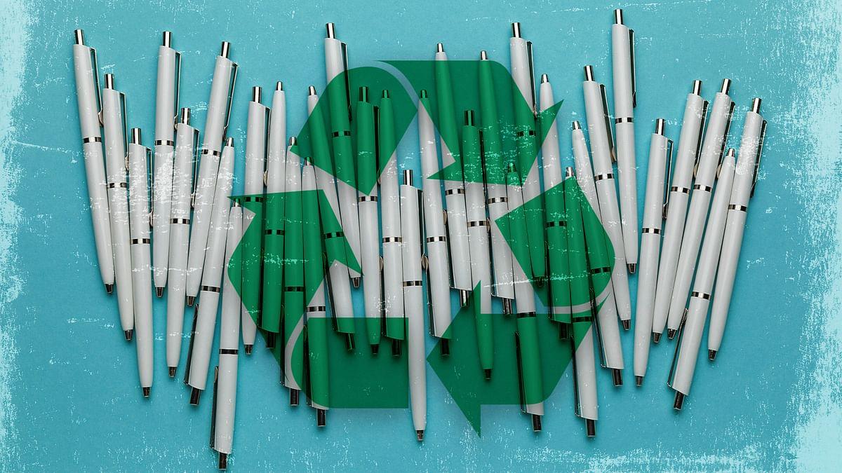 प्लास्टिक पेनों से उत्पन्न 91 फीसदी कचरा नहीं होता रिसाइकल