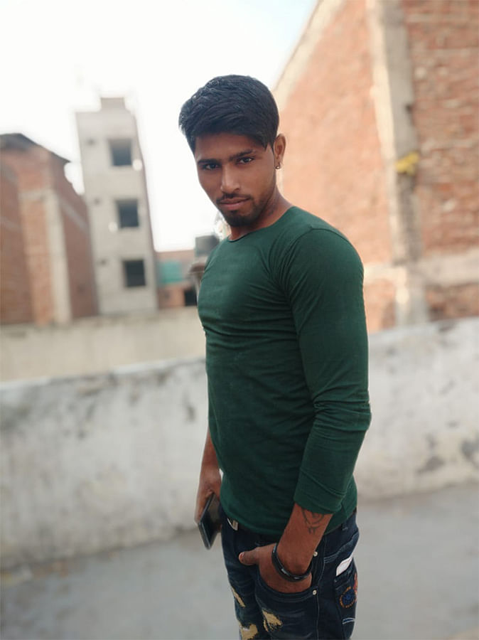 Shahid Alam, 22, was shot dead during the riots in Delhi on February 24