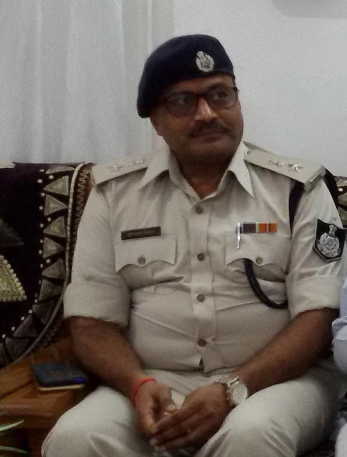 Mukesh Shrivastav, the former superintendent of the Niwari police.