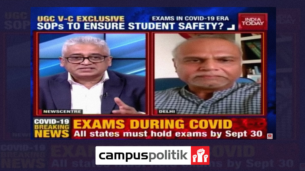 Lack of sanitisation, technical glitches, and long distances: How DU aspirants struggled through the entrance exams