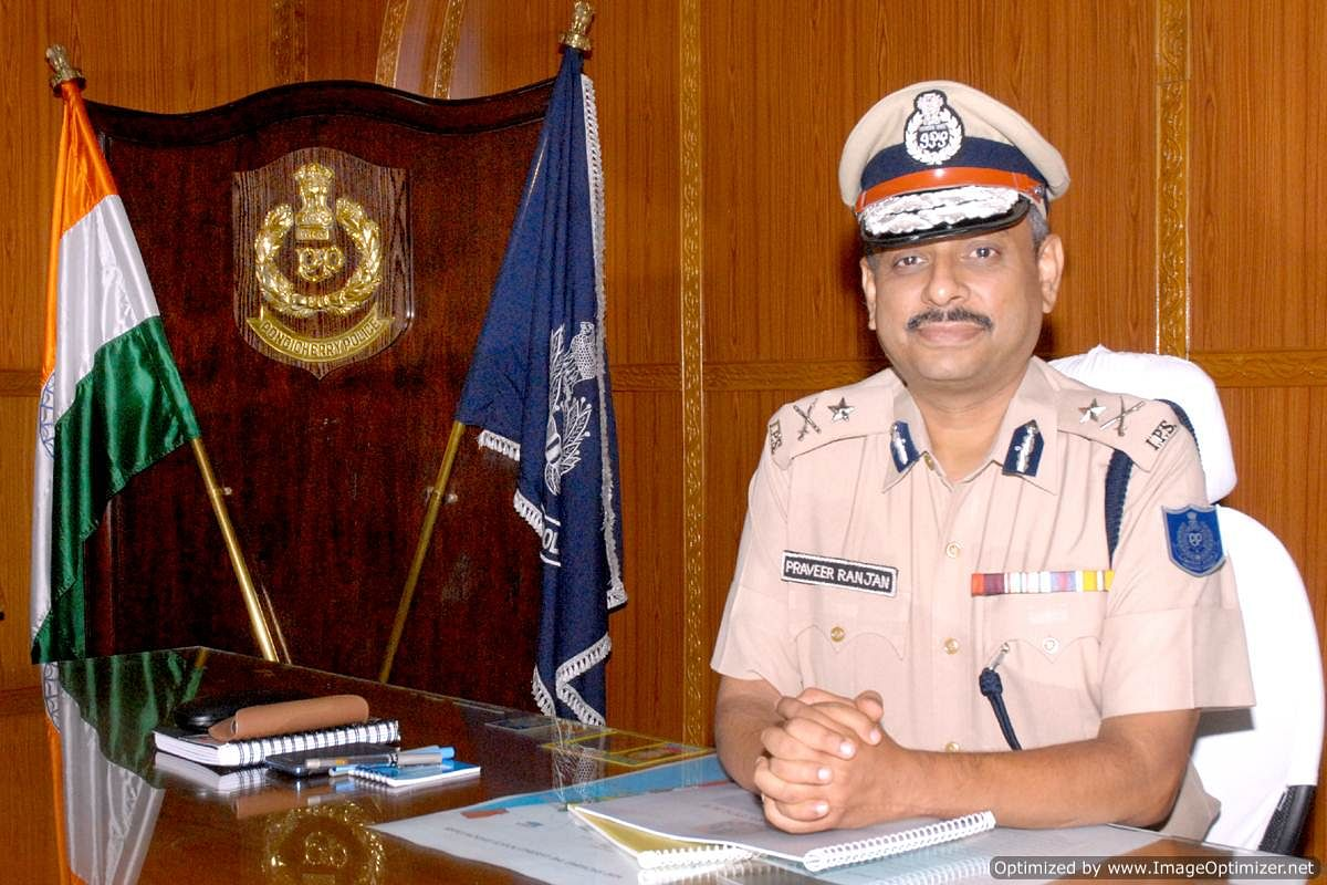Special Commissioner of Police (Crime) Praveer Ranjan | Courtesy: Government of Puducherry