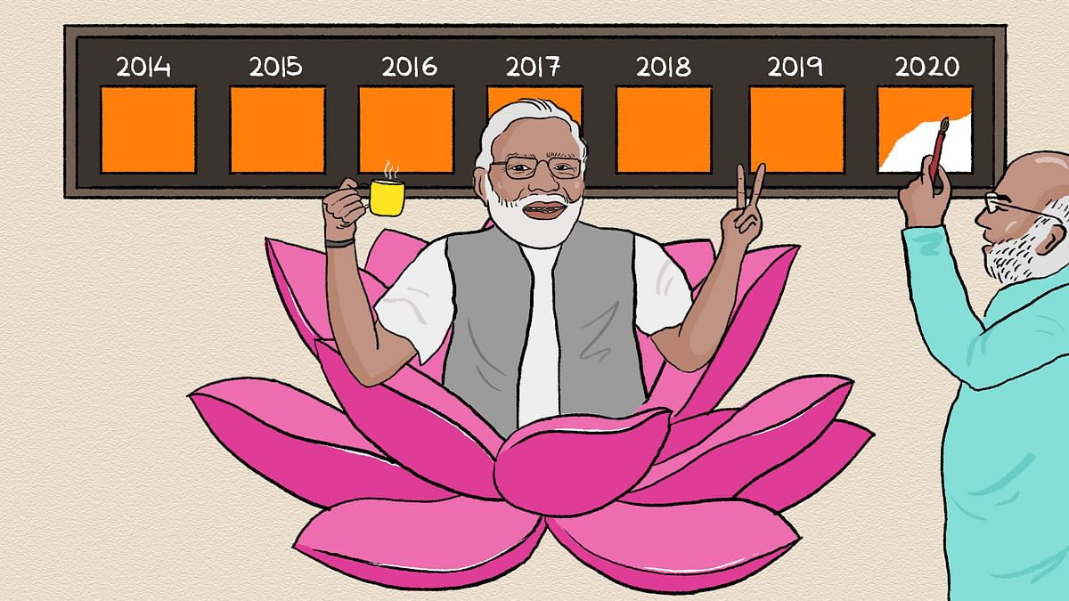 6 years, 2 months, 4 days: Modi's term marks the longest uninterrupted non-Congress government at the centre
