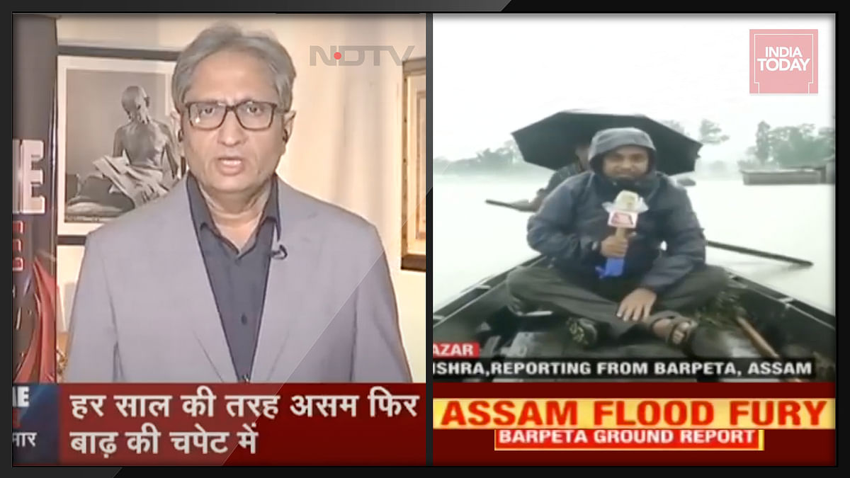 Assam floods: Four TV news reports that put the spotlight on the annual disaster