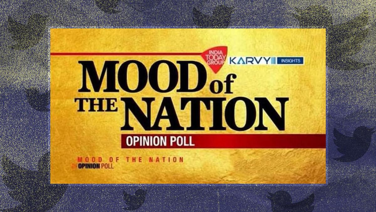 इंडिया टुडे सर्वे: नेशन का मूड सर्वे में कुछ, ट्विटर पर कुछ और मेल टुडे में कुछ और