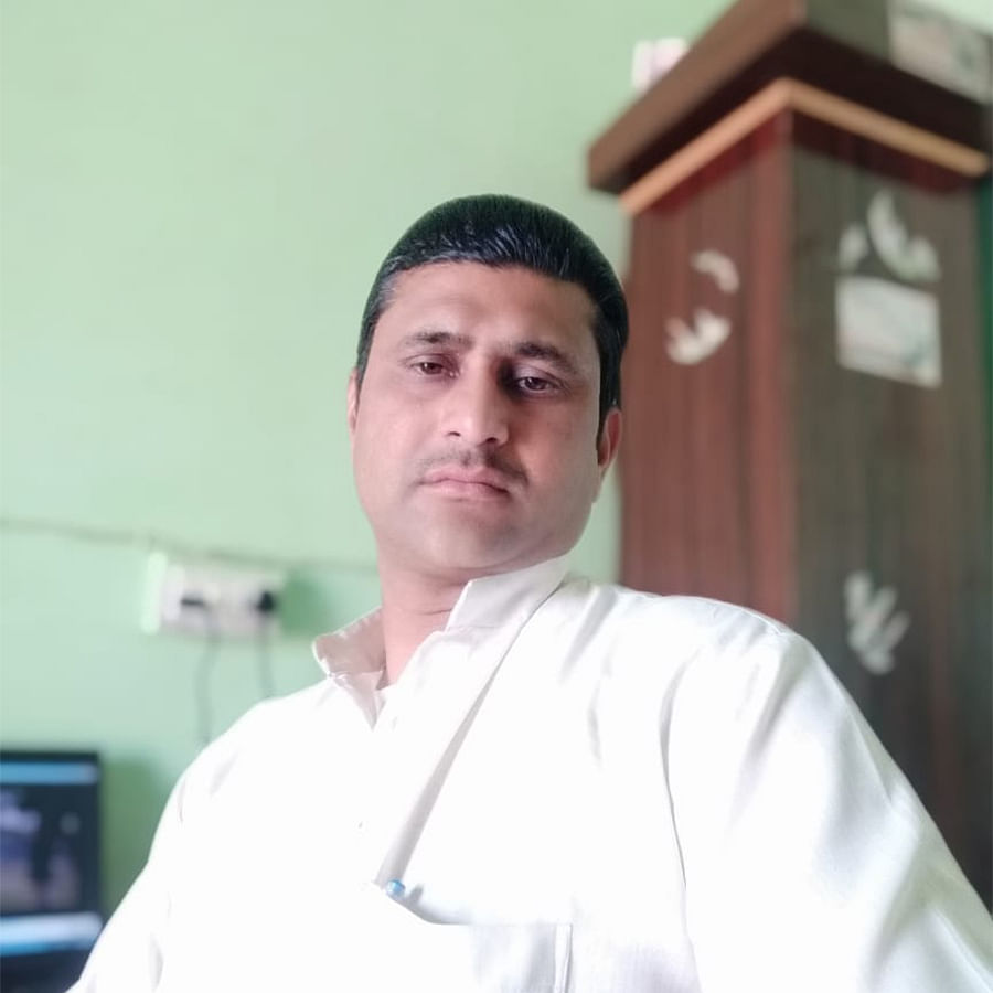 Mohammad Iqbal is a teacher at Riawali Nagla village in Muzaffarnagar.