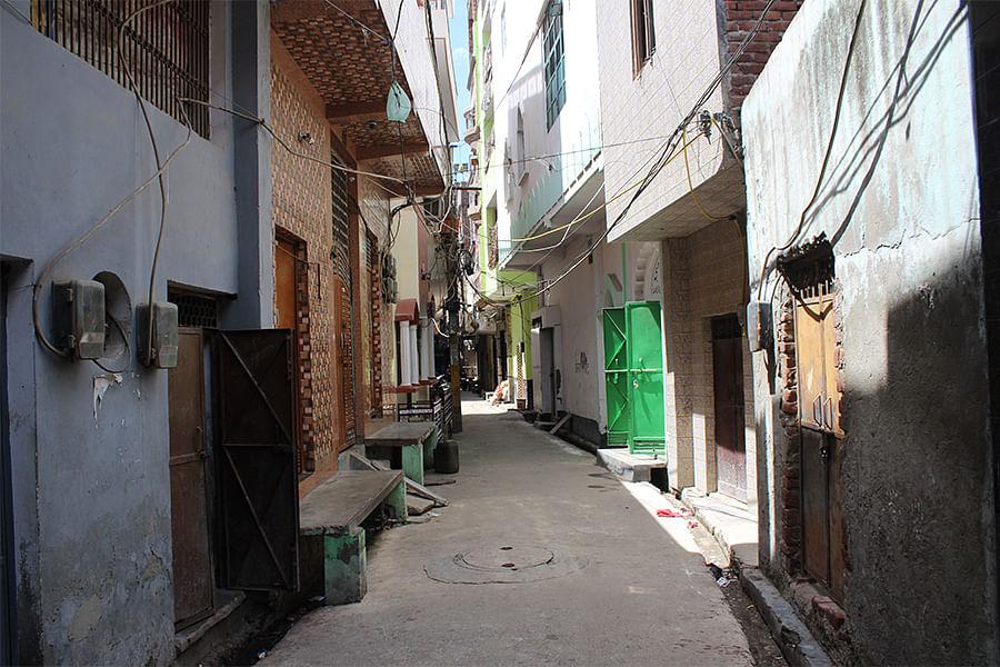 Lane 2 in North Ghonda's Subhash Mohalla