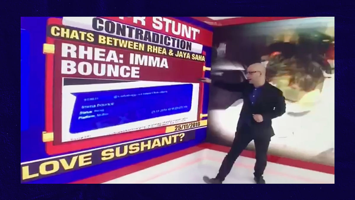 Look what bounced over Times Now's head