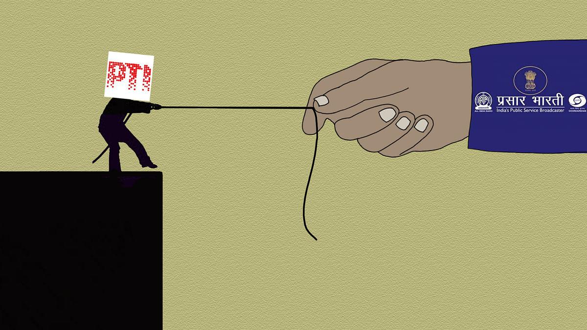 क्या प्रसार भारती न्यूज़ सर्विस है मोदी सरकार का नया पीटीआई