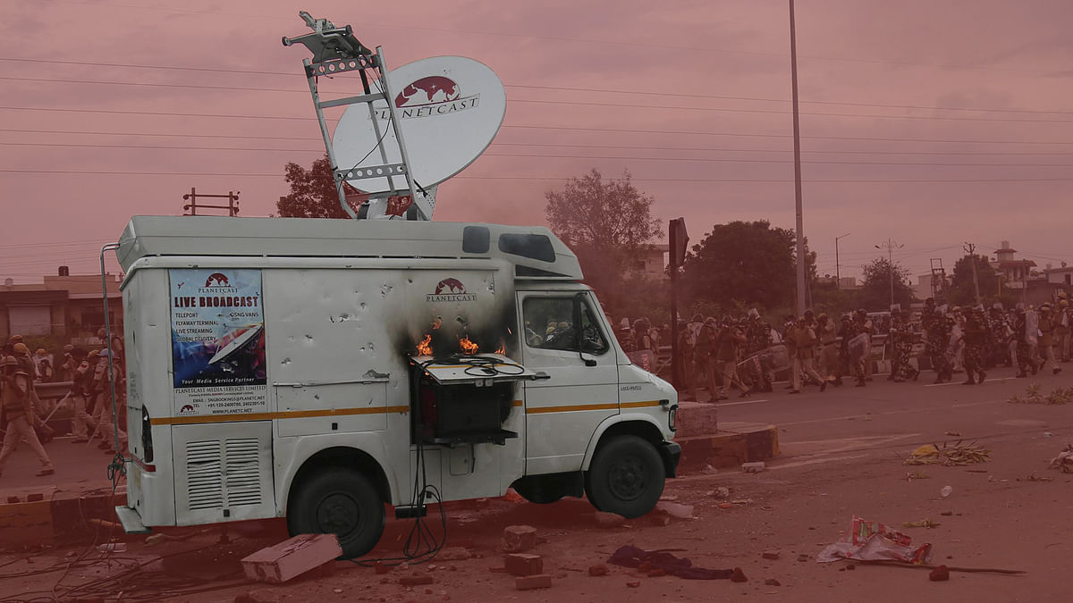 Journalist thrashed in Uttar Pradesh's Saharanpur, video of attack shared online