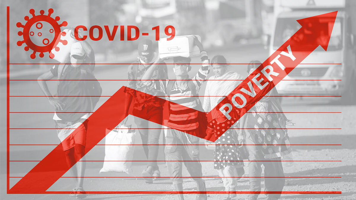 कोविड-19 के झटके से दोगुनी होगी गरीबी