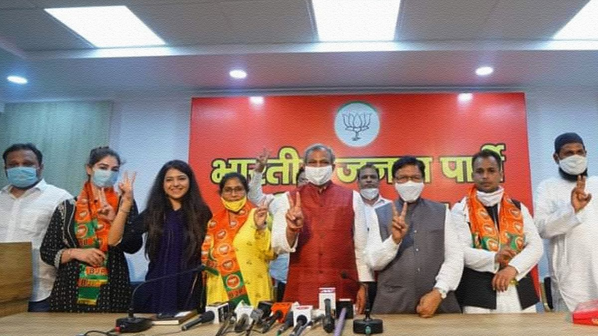 'Anti-nationals' to party workers: Meet the 'Shaheen Bagh protesters' who joined BJP