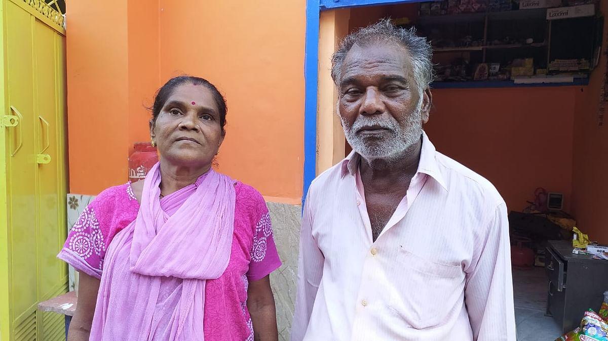 अन्ना नगर के प्रधान एन तुकुस्वामी और उनकी पत्नी जयश्री