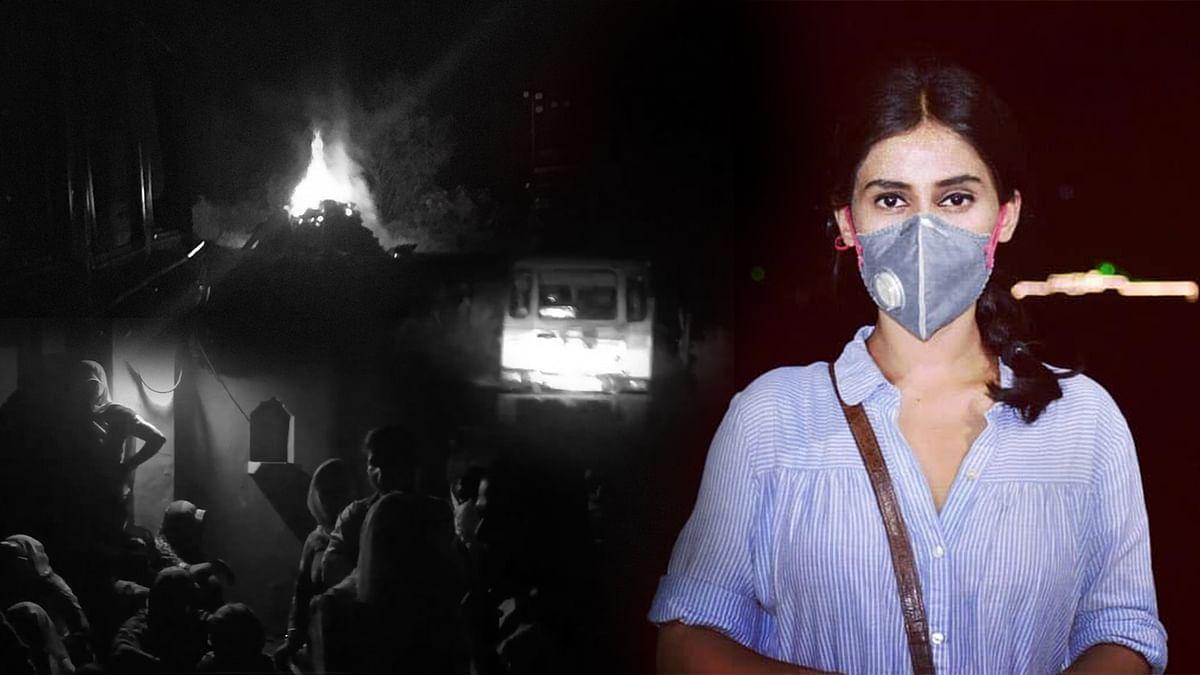 हाथरसकांड: उत्तर प्रदेश पुलिस के अमानवीय कृत्य का पर्दाफाश किया आज तक की साहसी रिपोर्टर ने