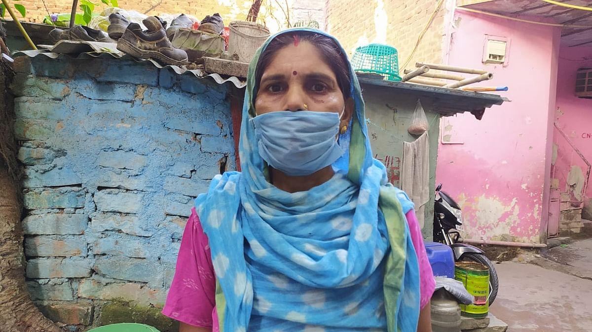 ग्वालियर की रहने वाली कली देवी सरकार से आवास की मांग कर रही है. उन्हें डर है कि अगर सरकार उन्हें आवास नहीं देती तो वो बेघर हो जाएंगी.
