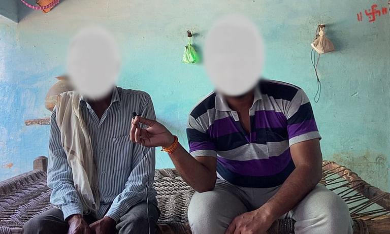 Relatives of the accused speak with Newslaundry.