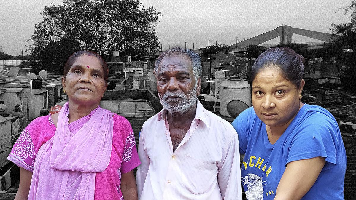 'लॉकडाउन में रोजगार गया, अब घर टूटने वाला है, सड़क किनारे भूखे मरेंगे हम'
