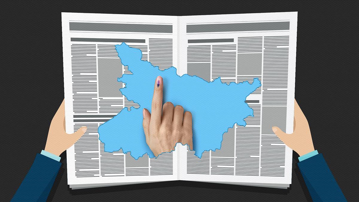 'Diwali ke pehle raajtilak': How Bihar's leading papers announced the poll schedule