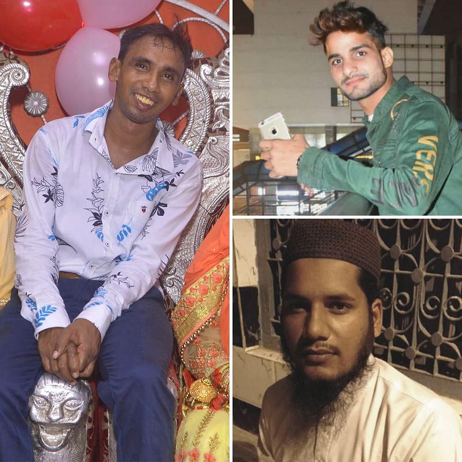 Zakir Ahmed, Ashfaq Hussain and Mehtab Khan were killed in Brijpuri on February 25.